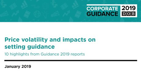 Price volatility and impacts on setting guidance: 10 highlights from Guidance 2019 reports