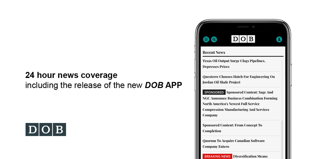 The latest news at your fingertips - the new DOB App!